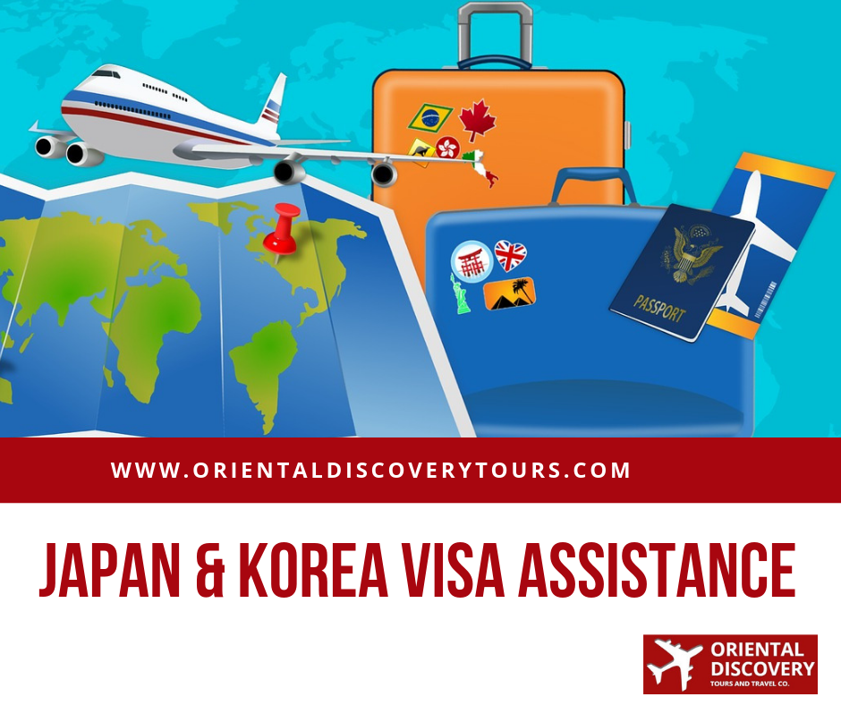 Visa Assistance Oriental Discovery Tours And Travel Co